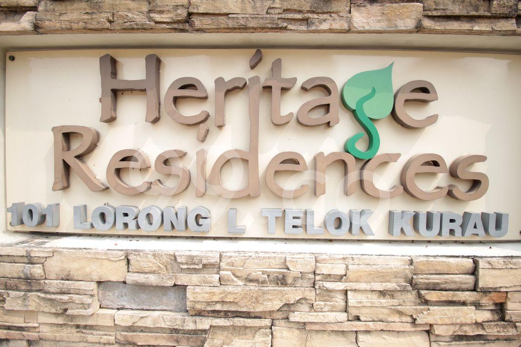 Heritage Residences  Logo