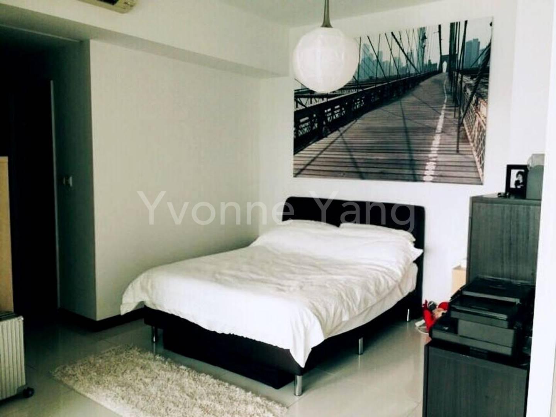 A comfy bedroom furniture