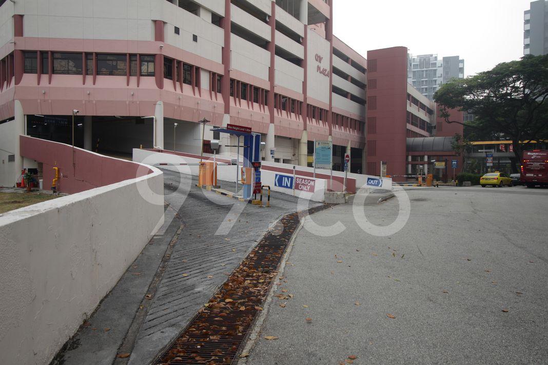 City Plaza  Entrance