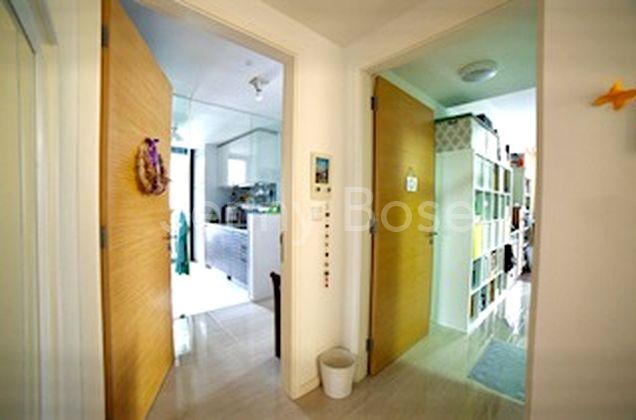 Wide Entrance Door to Both Apartments