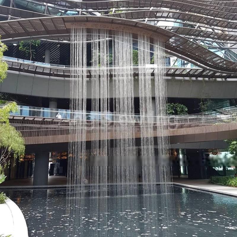 13m high ribbon water fall (Actual photo shot)