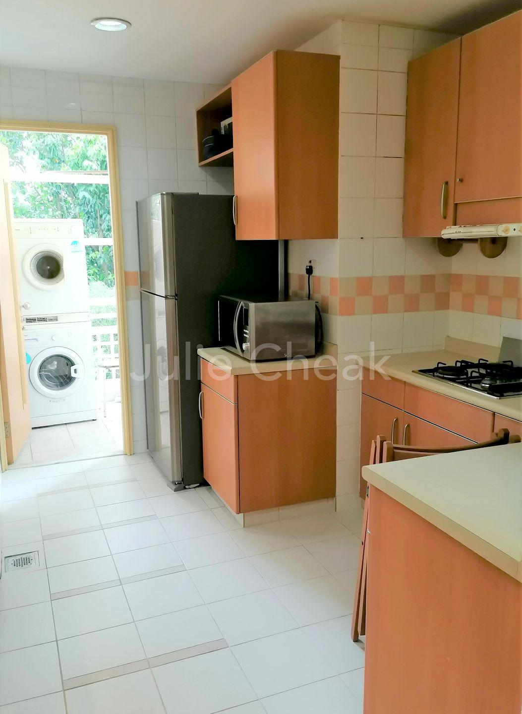 Kitchen area & Yard
