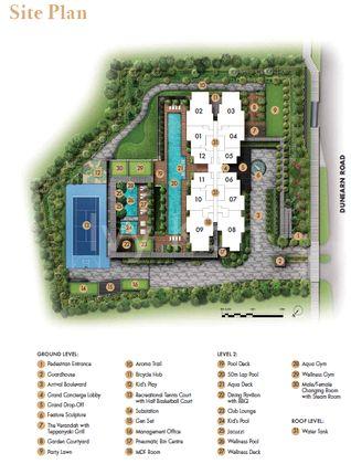 Pullman Site Plan