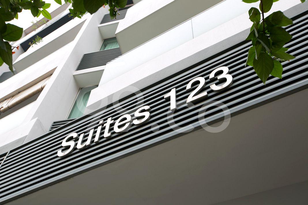 Suites 123  Logo