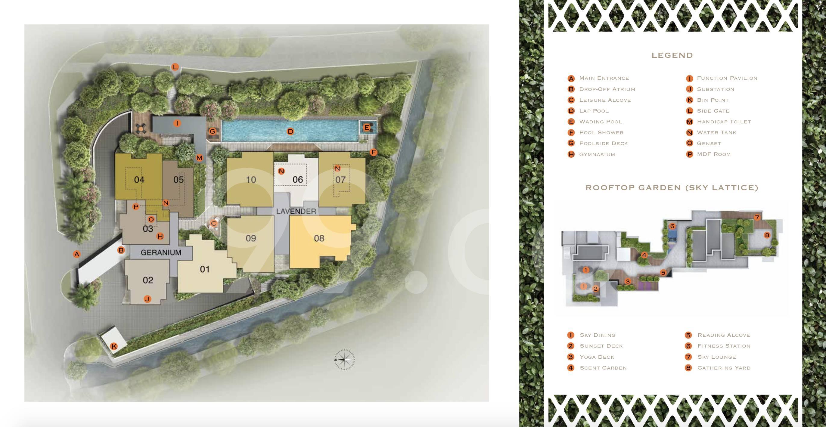 Lattice One site plan