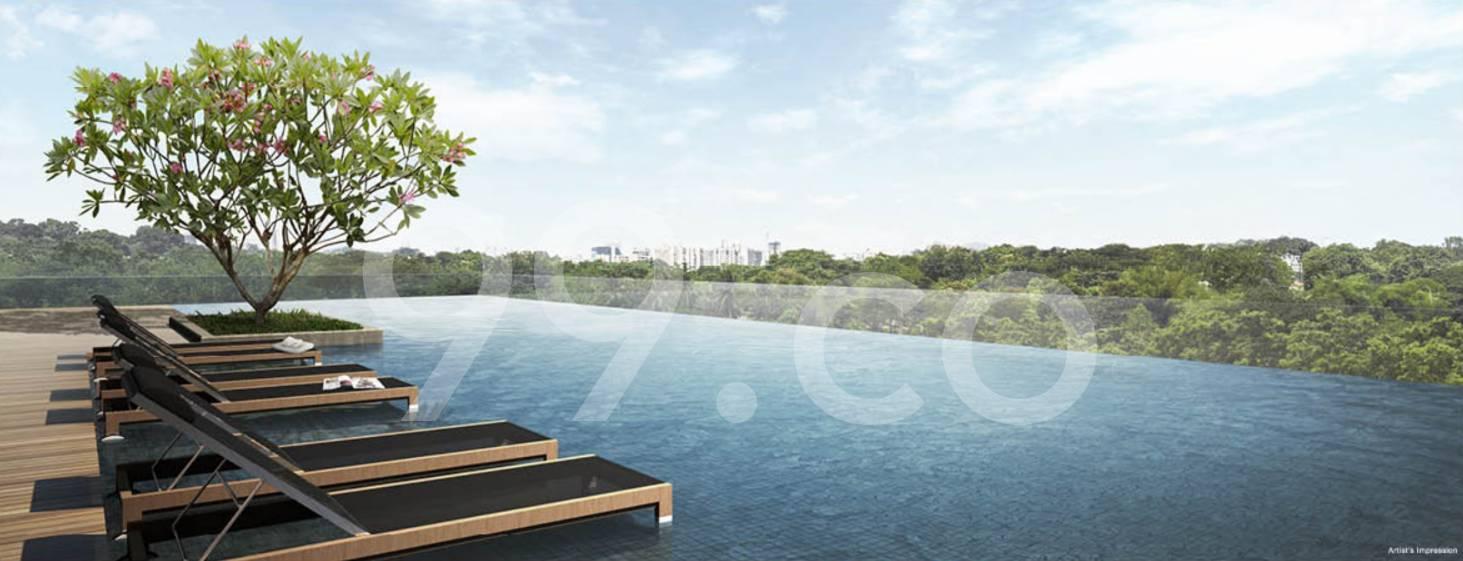Cluny Park Residence Pool