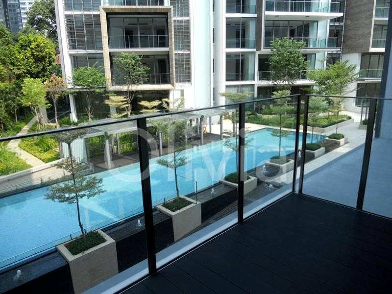 pool facing