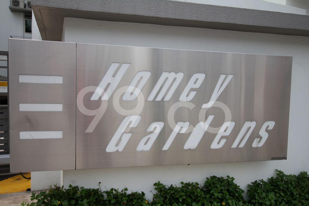 Homey Gardens  Logo