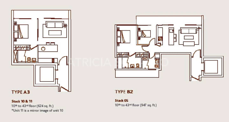 Refer to Type B2 Floor Plan