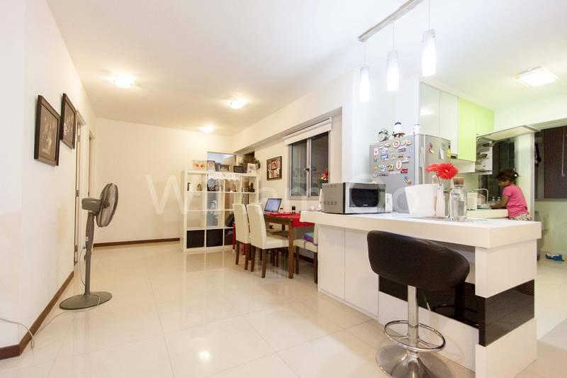 Living Room & Dining Room & Study
