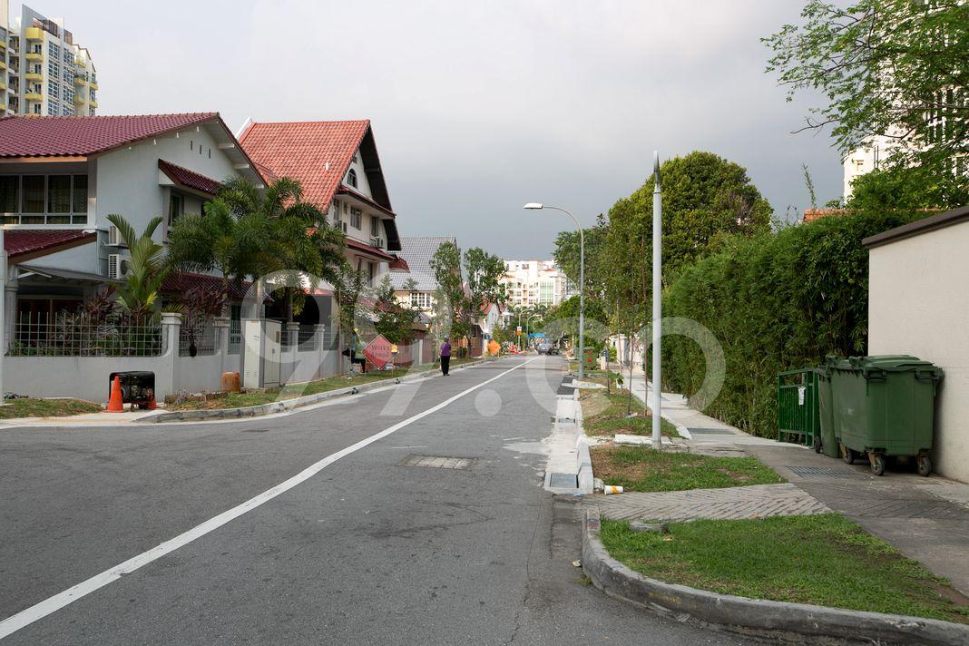 St Francis Court  Street