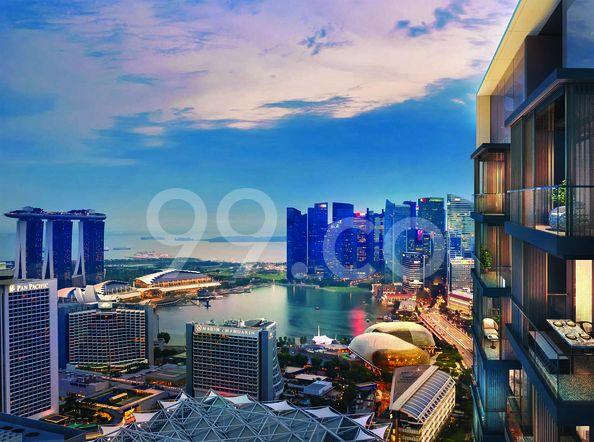 Midtown Bay Balcony View