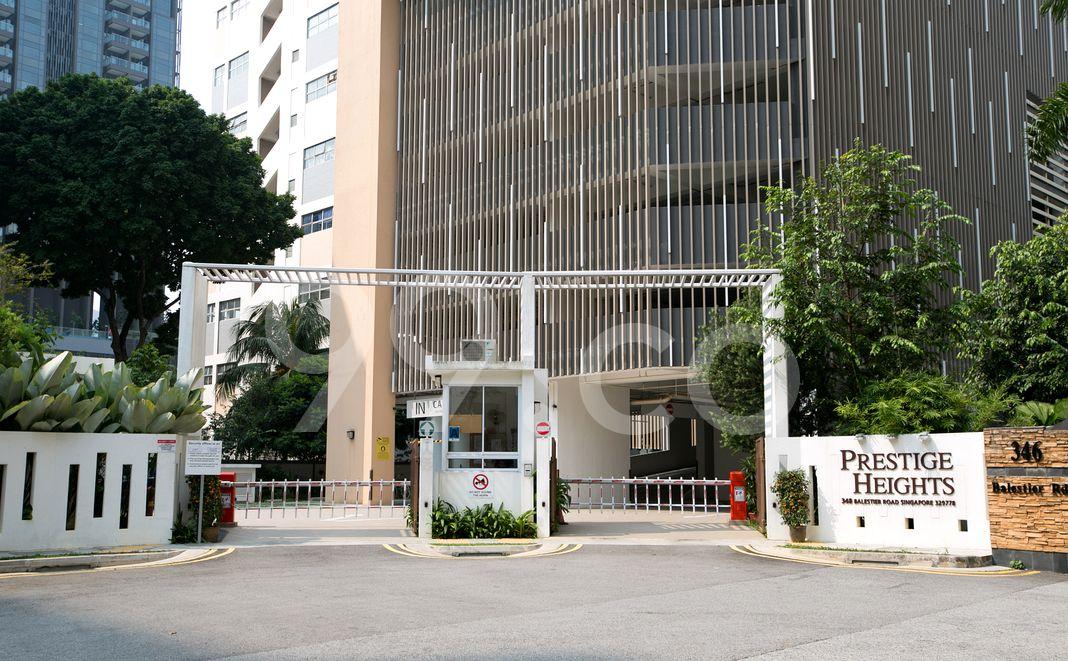 Prestige Heights  Entrance