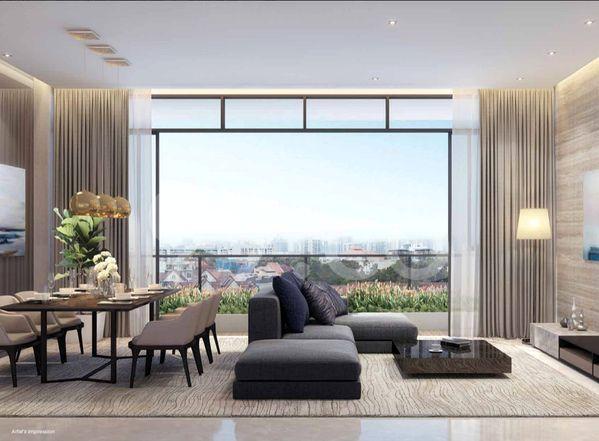 Parkwood Residences Living Room