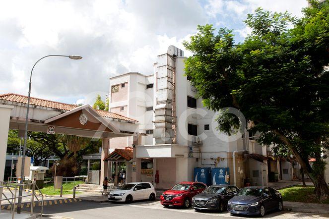 HDB-Jurong East Block 215 Jurong East