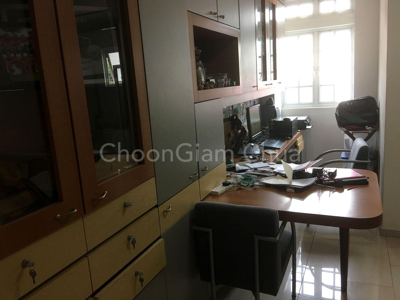 2nd Floor Bedroom 3 with study corner