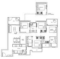 4 Bedrooms Type 4D1G