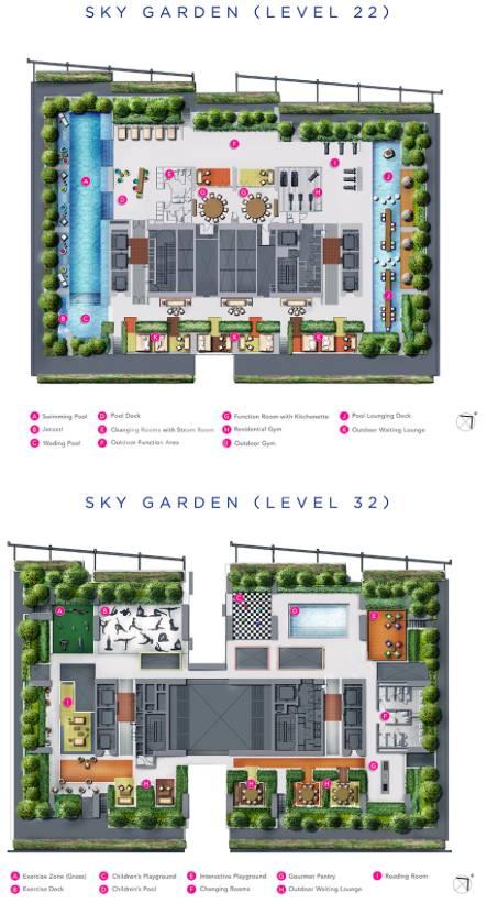 South Beach Residences site plan