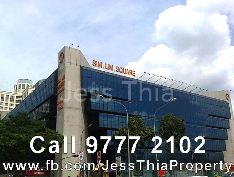 SIM LIM SQUARE, Shop with Windows / Floor Trap / Fire Sprinklers (Bugis / Little India / Rochor MRT)