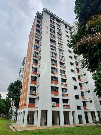 HDB-Hougang Block 167 HDB-Hougang