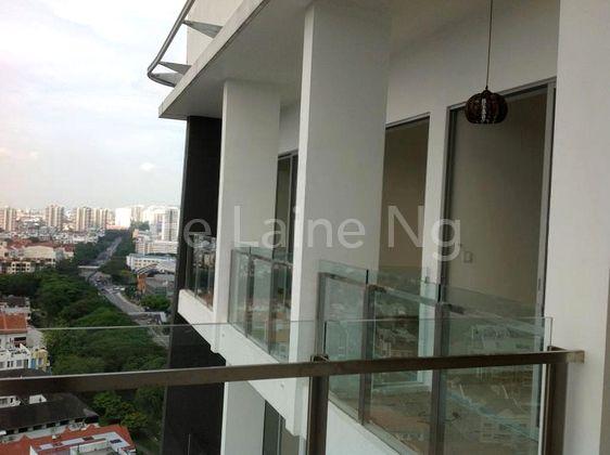 individual balconies