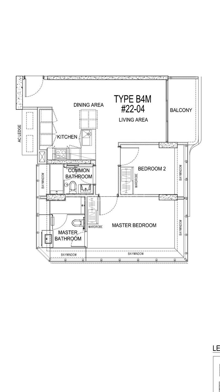 2 Bedroom 904 Sqft