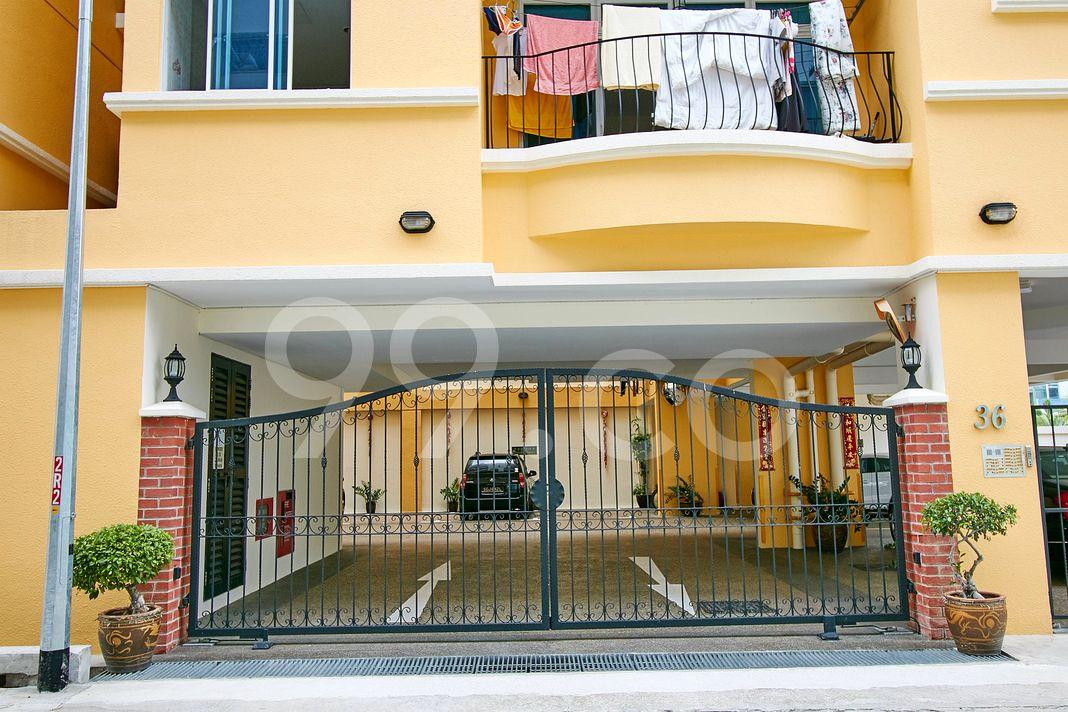 Choon Moey Mansions  Entrance