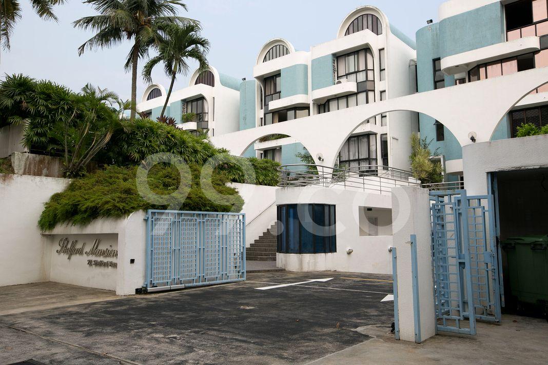 Shelford Mansions  Entrance