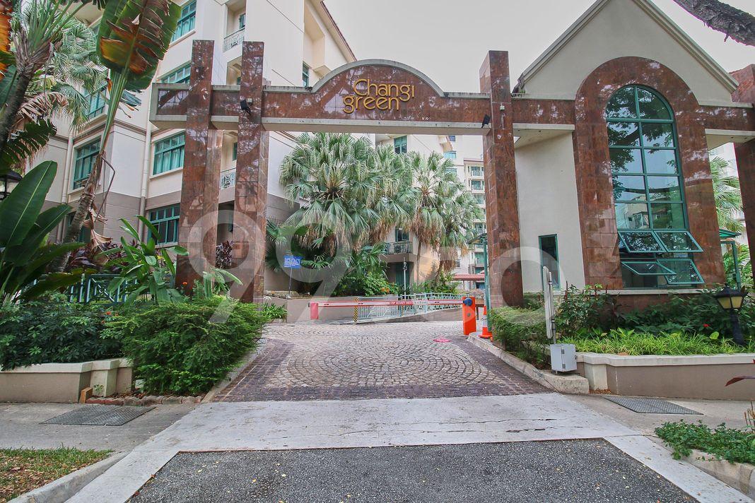 Changi Green  Entrance