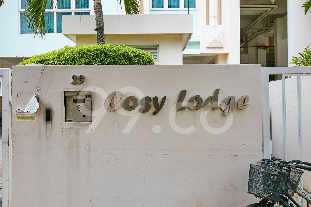 Cosy Lodge  Logo