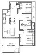 2 Bedrooms Type B13