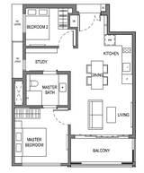 2 Bedrooms Type B9