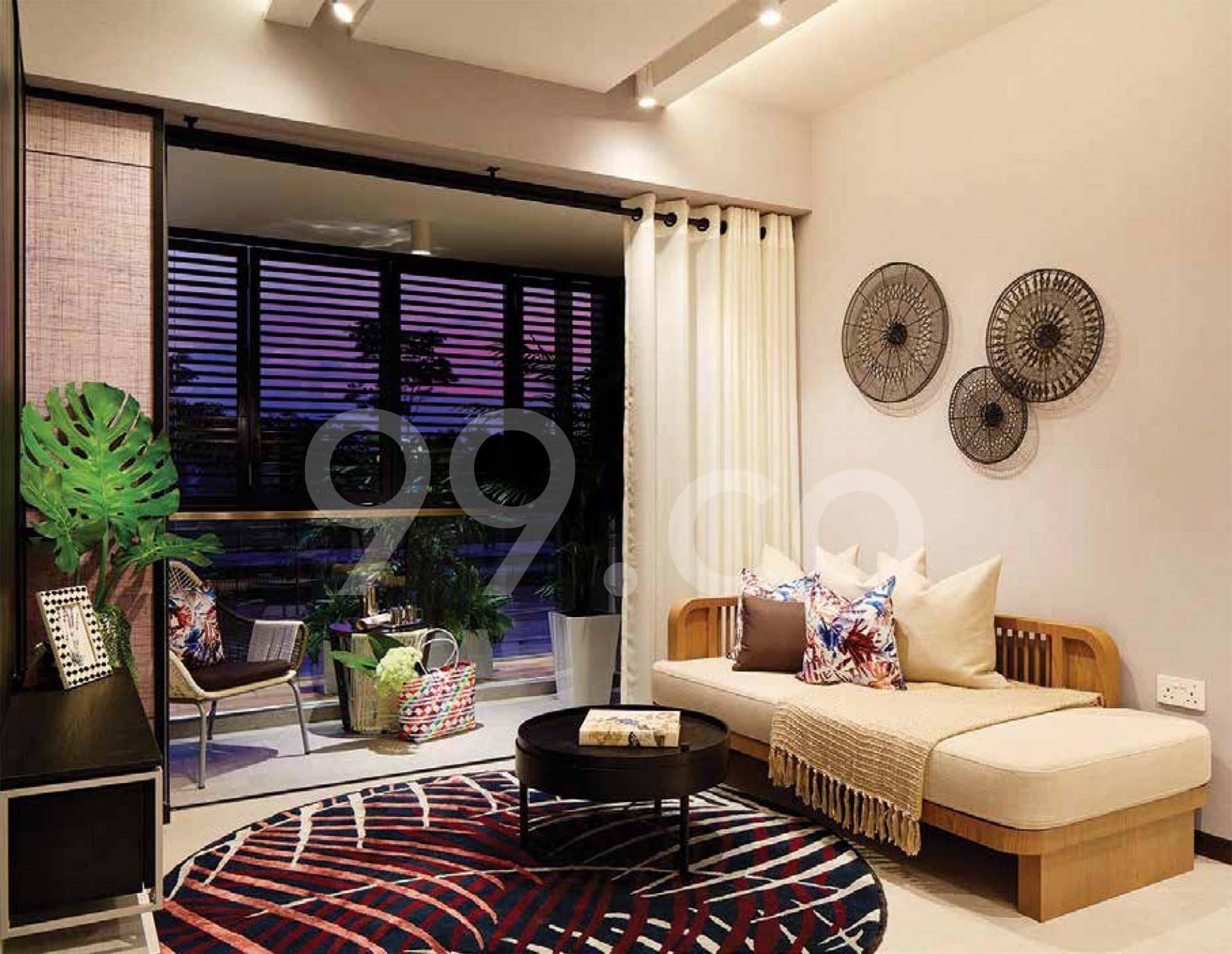 Bukit 828 Living Room