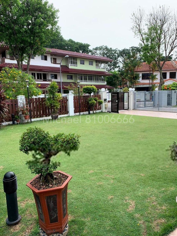 huge garden