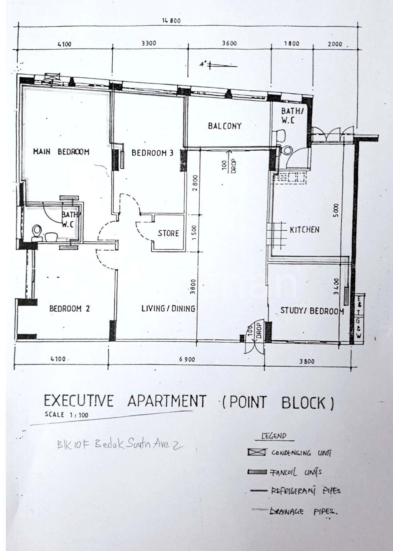 Image Of 2 Bedroom Felix Hdb: 10F Bedok South Avenue 2 4 Bedroom HDB Executive HDB