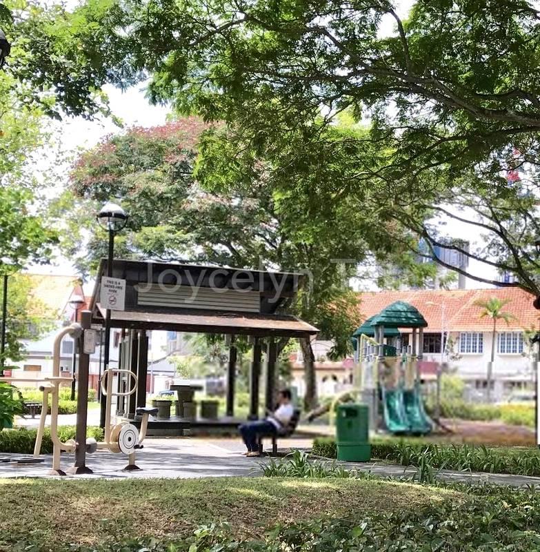 Exercise Area, Seating Area & Playground