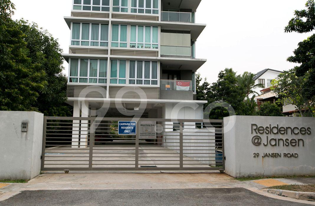 Residences @ Jansen  Entrance