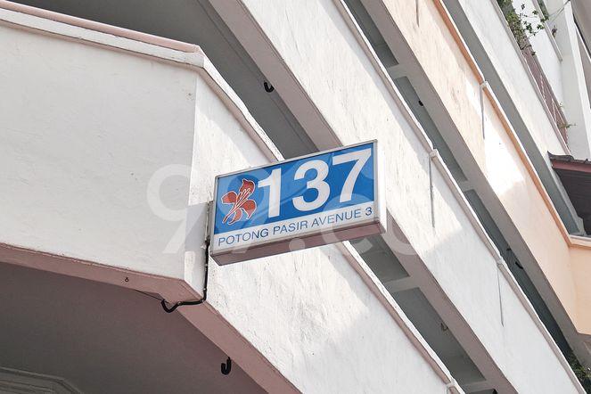 HDB-Potong Pasir Block 137 Potong Pasir