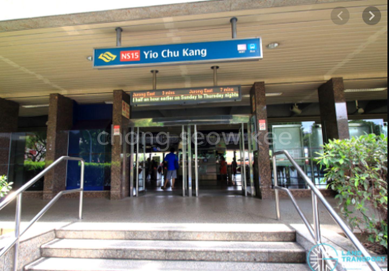 YCK MRT station