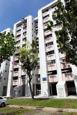 HDB-Jurong East Block 210 Jurong East