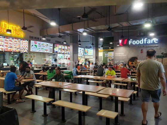 amenities at blk 273c, just 2 minutes away  halal & non halal food options