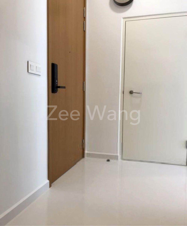 Entrance hallway - Storage room cum multipurpose room
