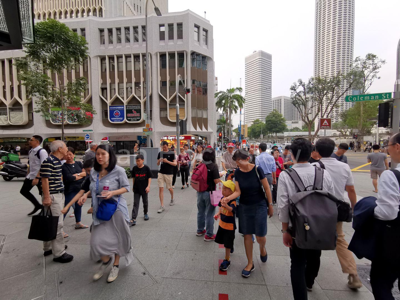 Non Stop Human Traffic Flow