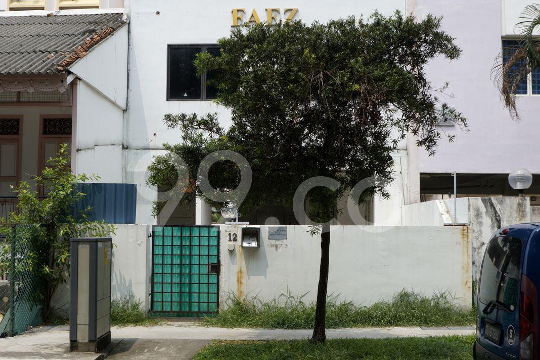 Goodview Apartments  Entrance