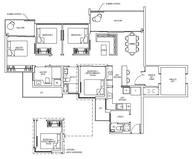4 Bedrooms Type 4L