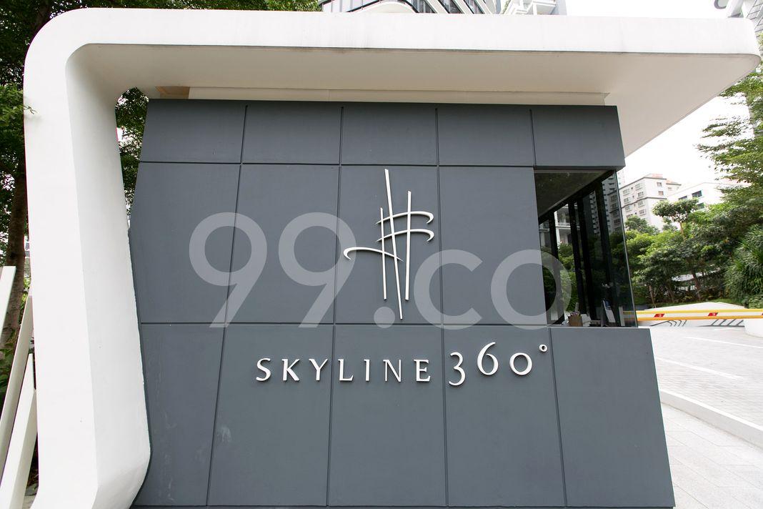 Skyline 360 @ St Thomas Walk  Logo