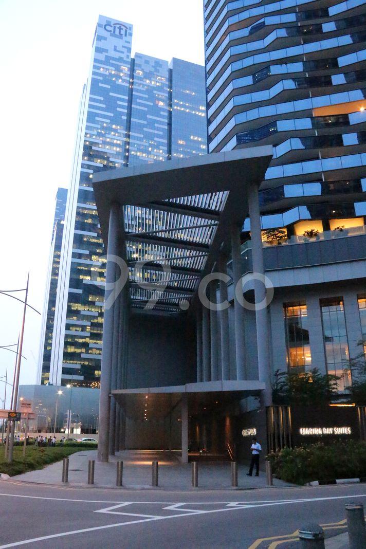Marina Bay Suites  Elevation