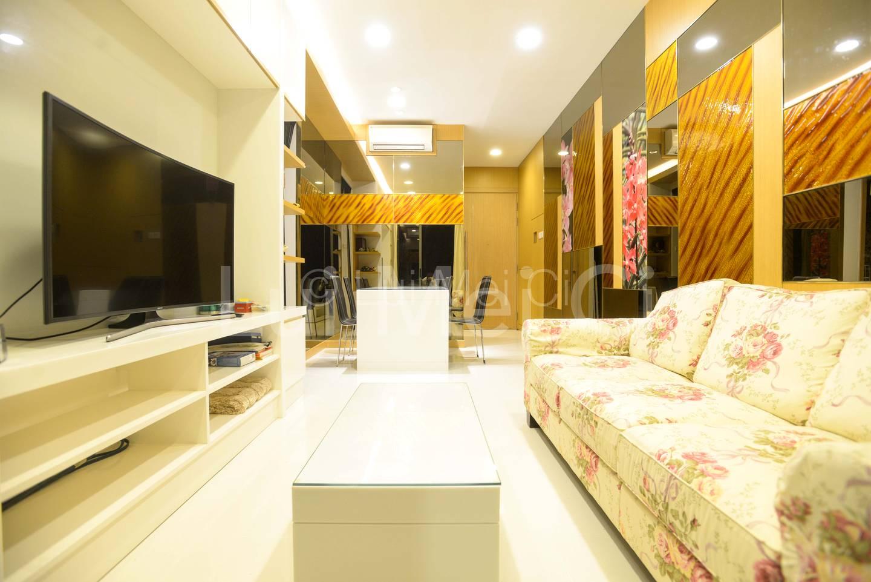 Generous Living Space