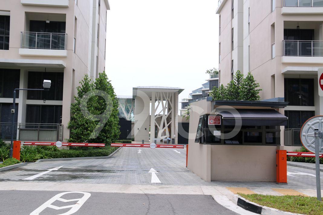 The Miltonia Residences  Entrance