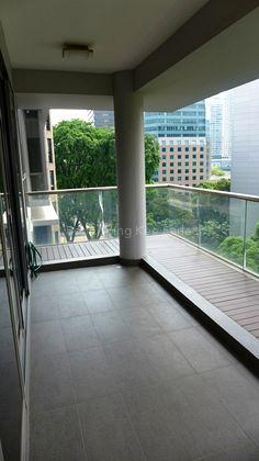 Balcony Area of Good size